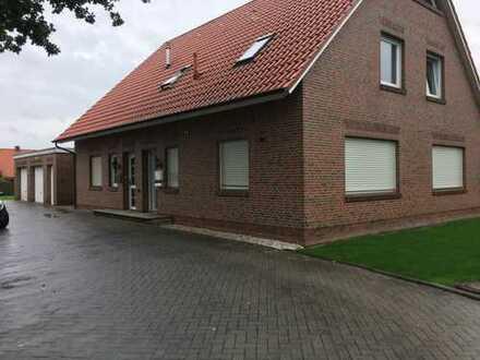 Bunde Ortskern: 3-Zimmer-Wohnung, 100 qm, EG, sehr gut in Lage, Ausstattung und Zustand!