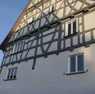 Moderne 5,5-Zimmer-OG-Wohnung in saniertem Fachwerkhaus in Murrhardt-Siegelsberg