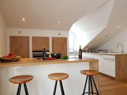 Schöne Penthouse-Wohnung mit Balkon in Rodenbach