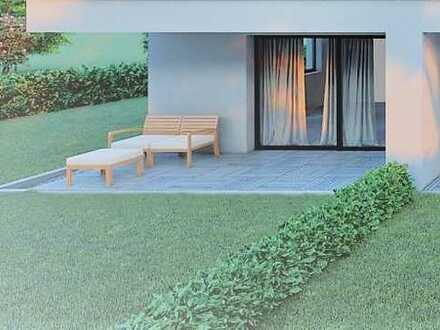 3-Zimmer Erdgeschosswohnung mit 180 m² großem Garten!