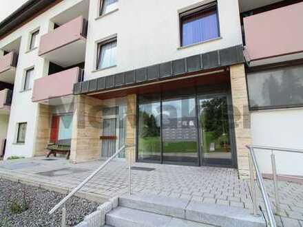 Möblierte Ferienwohnung im Schwarzwald: 1-Zi.-Apartment mit Balkon und hauseigenem Schwimmbad