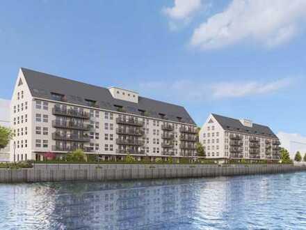 Denkmal-AfA! Barrierefreie 3-Zimmer-Wohnung mit freiem Wasserblick und sonnigem Balkon