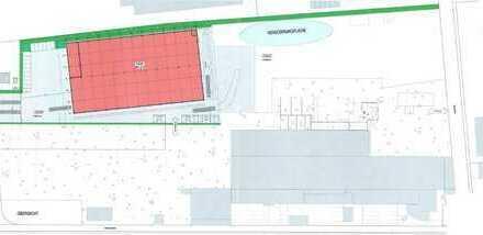 Neubau Industrie-/Gewerbehalle in Bornheim mit 1.750m² Hallenfläche