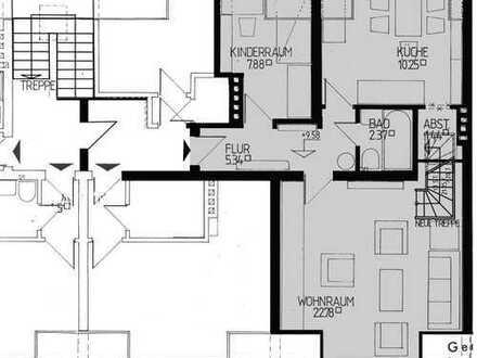 Einfache 2,5-Zimmer-Wohnung in Walle