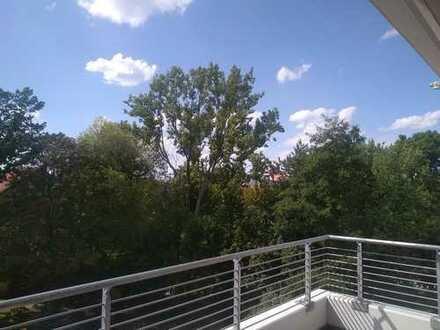 +++ Hochwertig ausgestattete 4-Raumwohnung mit großem Balkon in Top-Lage +++