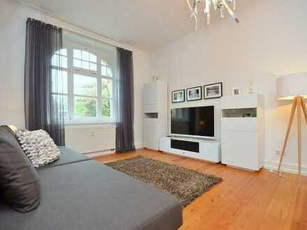 Exklusive Altbauwohnung mit Einbauküche und Balkon in Ludwigsburg
