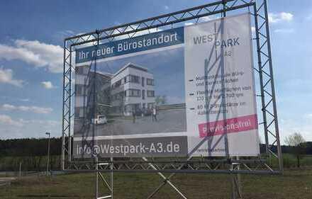 4891 qm ebenes Grundstück Ausfahrt A3 Erlangen-West