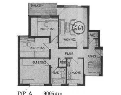4-Zimmer-Wohnung in ruhiger Lage - Tuttlingen-Möhringen