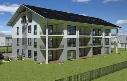 * West-Carrée * Ampfing • NEUBAU 2-Zi.-Wohnung mit Loggia im DG (WE 17)
