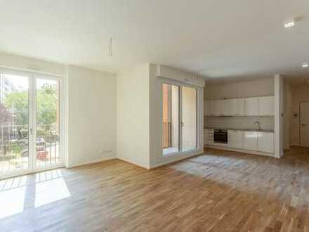 Weil die Familie es wert ist! 5-Zimmer-Komfortwohnung mit Einbauküche, 2 Bädern, Loggia und Balkon