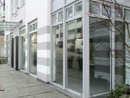 Zentrales, barrierefreies Ladengeschäft - hell und modern mit Fußbodenheizung