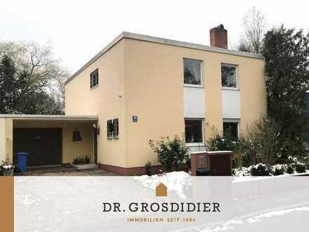 Dr. Grosdidier: Günstiges 6-Zi.-EFH mit sonnigem Garten! Nachlass-Verkauf!
