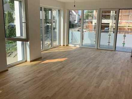Erstbezug mit Balkon: attraktive 3-Zimmer-Wohnung in Kirchdorf an der Iller