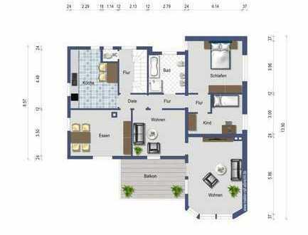 4-5% Mietrendite bringt Ihnen diese schöne 5 Zimmer Wohnung
