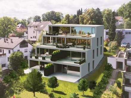 Sonniges Wohnen in traumhafter Aussichtslage mit eigenem Gartenanteil