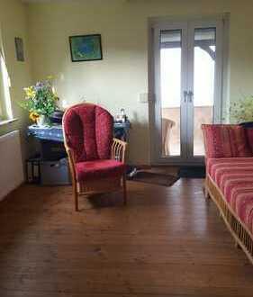 Idyllische Lage mit Blick in Birkenau, Kleines Haus mit Ausbaureserve