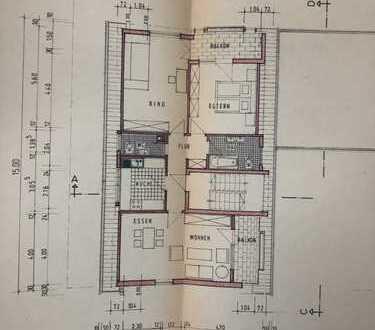Helle DG-Wohnung mit zwei Balkonen