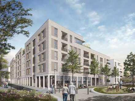 Heidelberg-Bahnstadt: Neubau-Ladeneinheiten zum Kauf im Projekt urban four