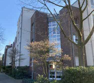 NEU!! Wohnen im beliebten Bilk-Uniklinik - Moderne 2-Zimmer Wohnung mit Balkon, Blick ins Grüne & TG