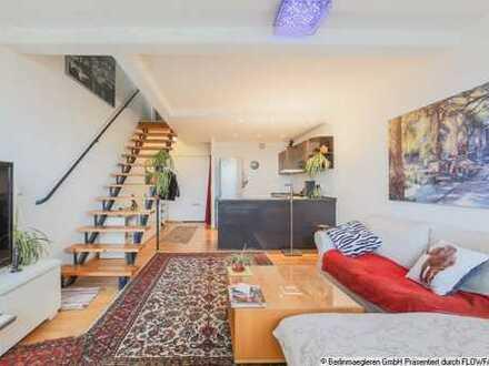 Besondere Maisonettewohnung mit herrlichem Ausblick - vermietet mit lebenslangem Wohnrecht