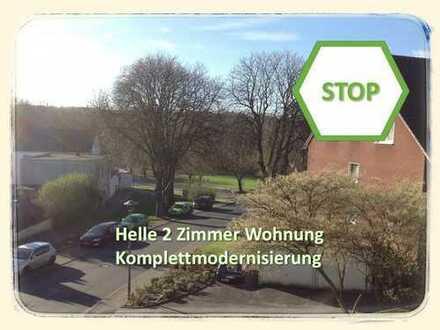 TOP - Helle zwei Zimmer Wohnung - Komplettmodernisierung!!!