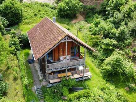 Haus mit Weitsicht in Rheinebene, naturnah am Waldrand gelegen