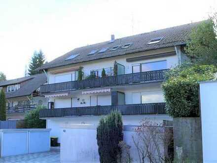 FREI! 2-Zimmerwohnung mit zwei Balkonen und Garage in herrlicher Lage von Bad Herrenalb