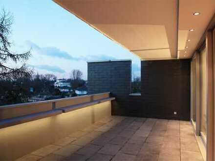 Schicke Wohnung mit großer Terrasse und Topausstattung in Kaiserswerth