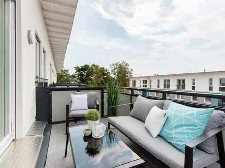 Traumhafte Neubauwohnung mit 3 Zimmern und Balkon