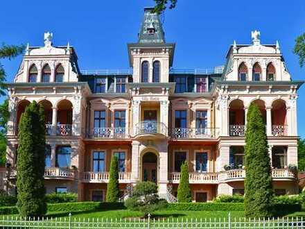 Wohnung in der Villa Hintze mit großer Terrasse