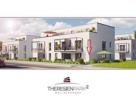 Erstbezug - 3-Zimmer Erdgeschosswohnung mit eigener Terrasse und Garten