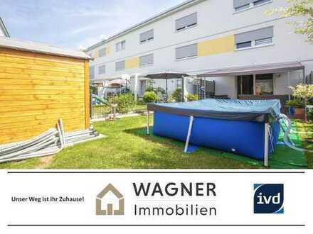 Reihenmittelhaus im Künstlerviertel Wiesbadens: neuwertig, geräumig, energiesparend