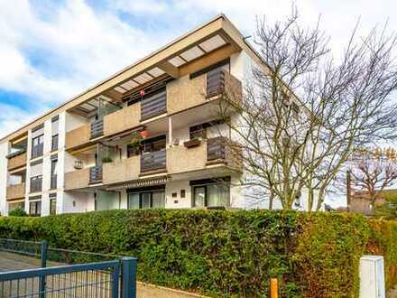 Maintal-Bischofsheim: Schöne 4 Zimmer-Wohnung mit Süd-West Balkon und Einbauküche in ruhiger Lage