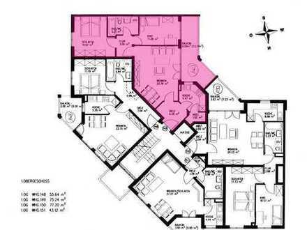 Erstbezug nach Sanierung mit Einbauküche und Balkon: exklusive 3-Zimmer-Wohnung in Augsburg