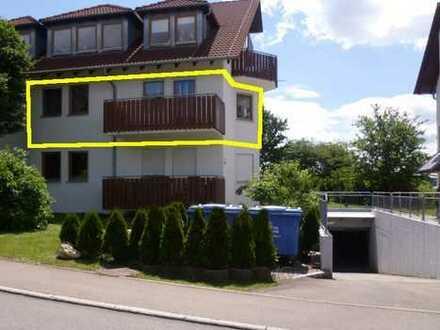 RESERVIERT! Gemütliche 3-Zimmer-Wohnung mit Balkon in Neufra