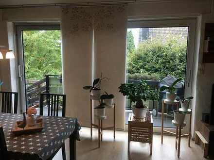 Wohlfühloase! Hünxe Drevenack, 90 qm, Sonnige 3-Zimmer Wohnung + Balkon + Dachterrasse + Sauna
