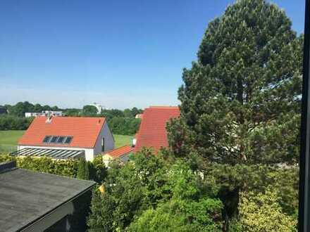 Schlebusch, 75 qm - helle, großzügige EG-Terrassen-Wohnung mit Gartennutzung.