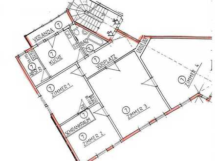 4-Zimmer-Wohnung in Stuttgart-Mitte