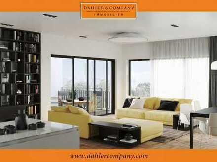 NEUBAU: Loftartige Zwei-Zimmer-Wohnung mit Dachterrasse