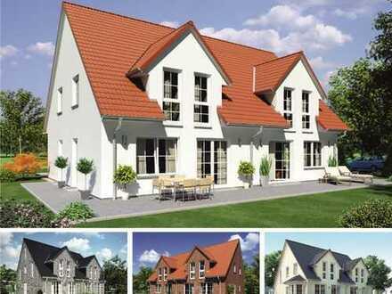 Bei uns werden Träume wahr - Doppelhaushälfte inklusive Bauplatz!