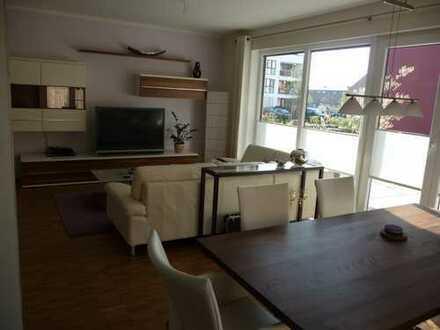Exklusive 4-Zimmer-EG-Wohnung mit Balkon und Einbauküche in Hamburg- Marienthal