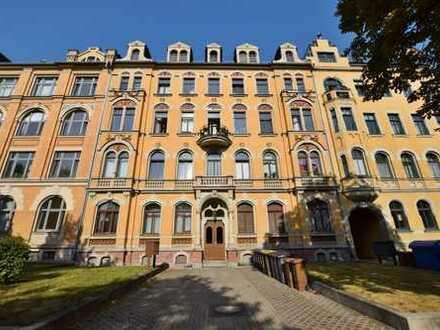 Ansprechende Eigentumswohnung in Schloßchemnitz mit Süd-West-Balkon und Tiefgarage!
