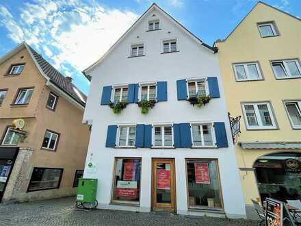 Einzelhandelsfläche in bester Einkaufslage von Leutkirch zu vermieten.