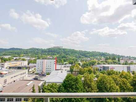 TOP-Renovierte 2-Zimmer-Wohnung mit Veste-Blick!