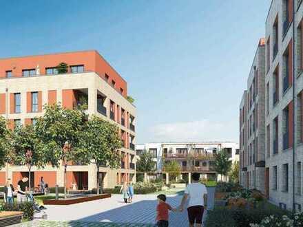 Moderne 3-Zimmer-Balkonwohnung idyllisch am Ingelheimer Garten und doch mittendrin im Leben!