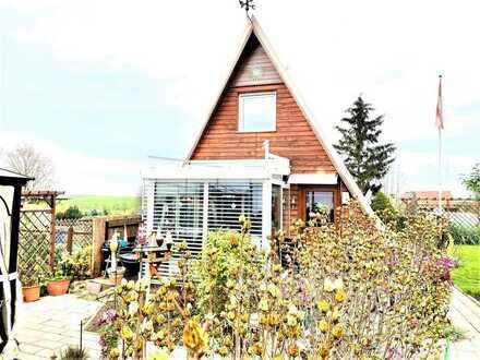 LEHNITZSEE-IMMOBILIEN: Finnhütte auf Pachtland