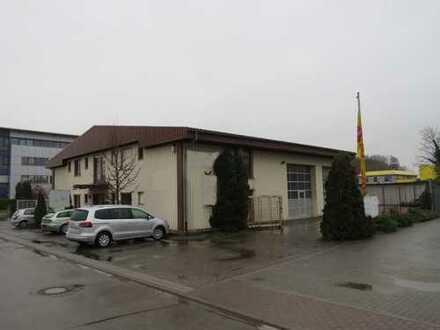 Betriebsgebäude mit Werkstatt, Lager und Büro + Lagerhalle
