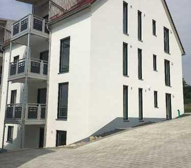 Erstbezug: stilvolle 2,5-Zimmer-EG-Wohnung mit Balkon in Pfaffenhofen an der Ilm (Kreis)