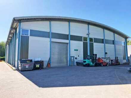 Halle, Lager, Produktionsfläche mit Büros im OG