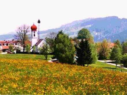 Privatverkauf, Allgäu nahe Bodensee, herrliche Bergsicht, ruhig gelegen